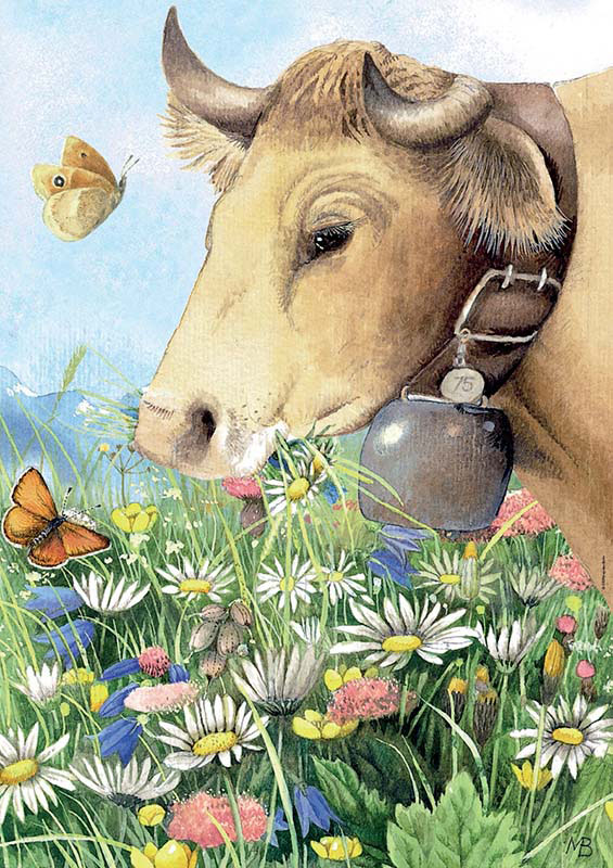 Cow Cows Jigsaw Puzzle