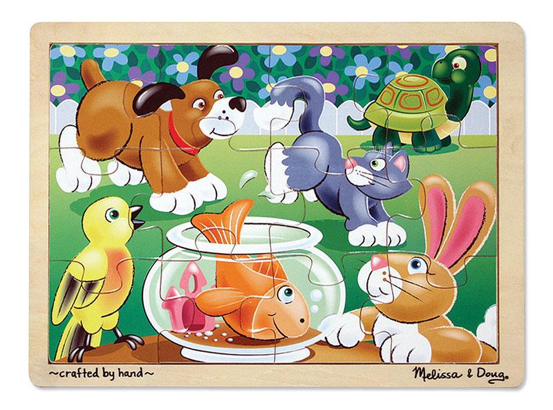 Playful Pets Animals Jigsaw Puzzle