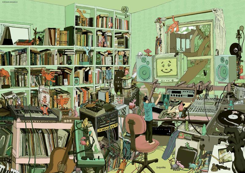 Kozyndan, My Music Music Jigsaw Puzzle