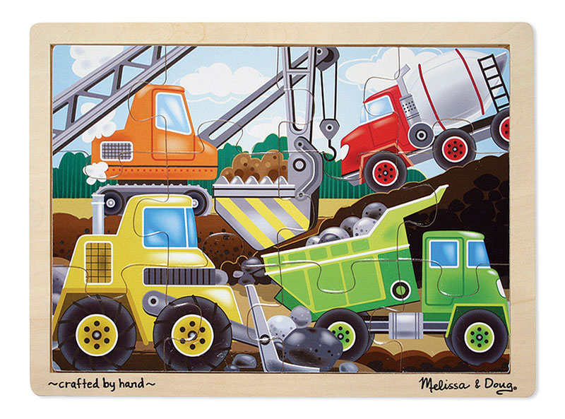 Construction Site Construction Jigsaw Puzzle