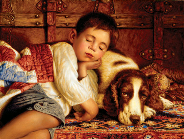 Worn Out Dogs Jigsaw Puzzle