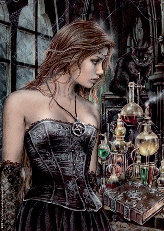 3D Poison Gothic Jigsaw Puzzle