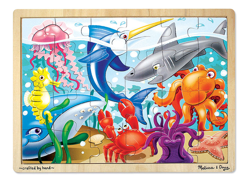 Under the Sea Marine Life Children's Puzzles
