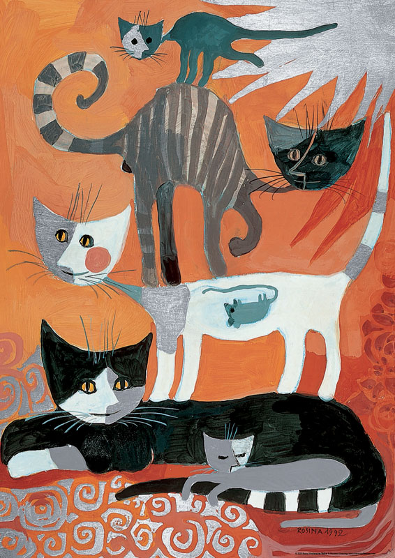 Wachtmeister, Mouse Cats Glitter/Shimmer/Foil