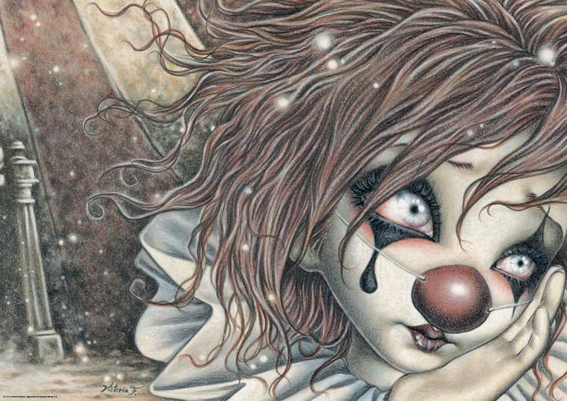 011316edb7b1 Red Nose (Misty Circus) Carnival Jigsaw Puzzle