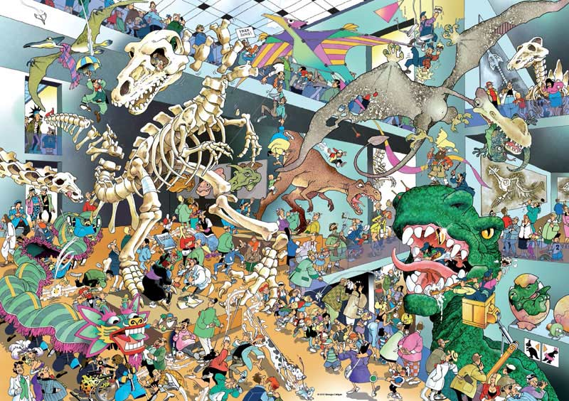 Dinos Jigsaw Puzzle Puzzlewarehouse Com