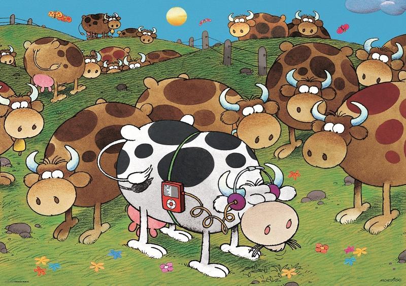 Mordilla, iCow Cows Jigsaw Puzzle