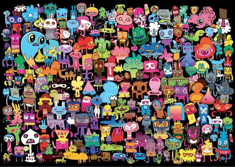 Burgerman, Hi There! Cartoons Jigsaw Puzzle
