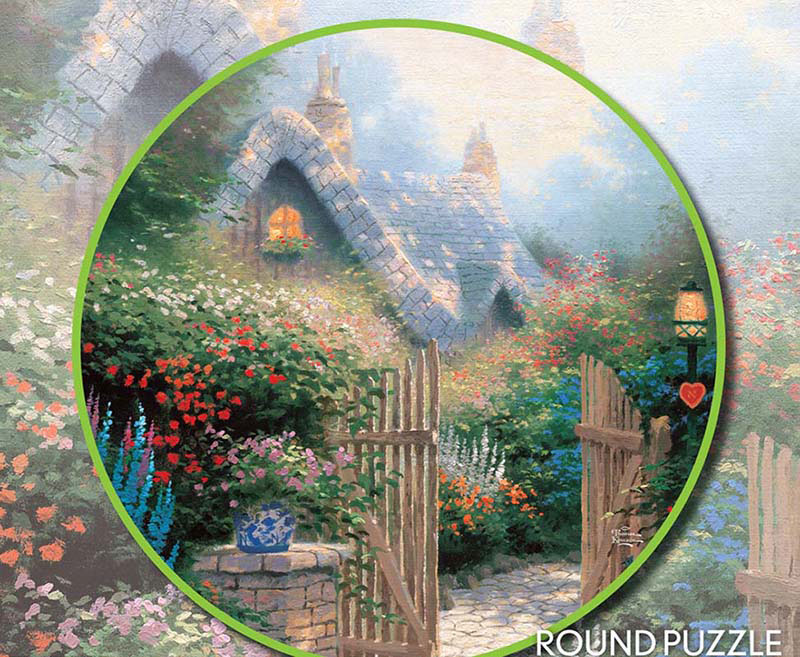Hidden Cottage II Jigsaw Puzzle