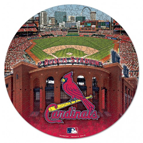 Official MLB St. Louis Cardinals Box Sports Shaped Puzzle