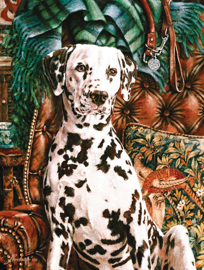 Dalmatian Dogs Jigsaw Puzzle