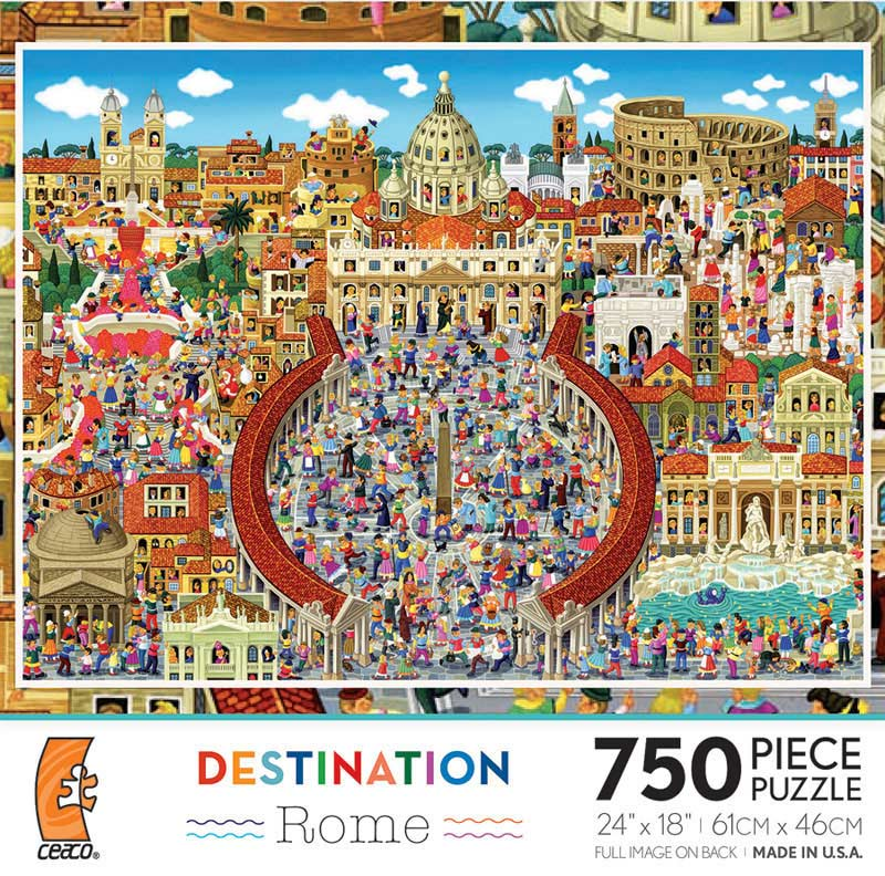 Destination - Rome Italy Jigsaw Puzzle