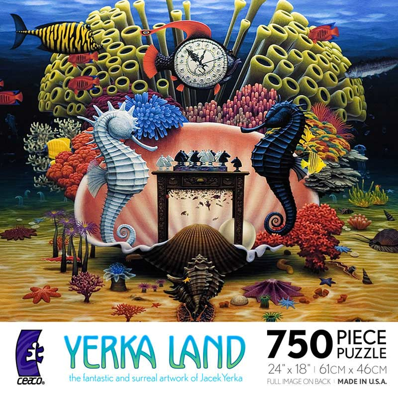 Yerka Land -Check Mate Under The Sea Jigsaw Puzzle