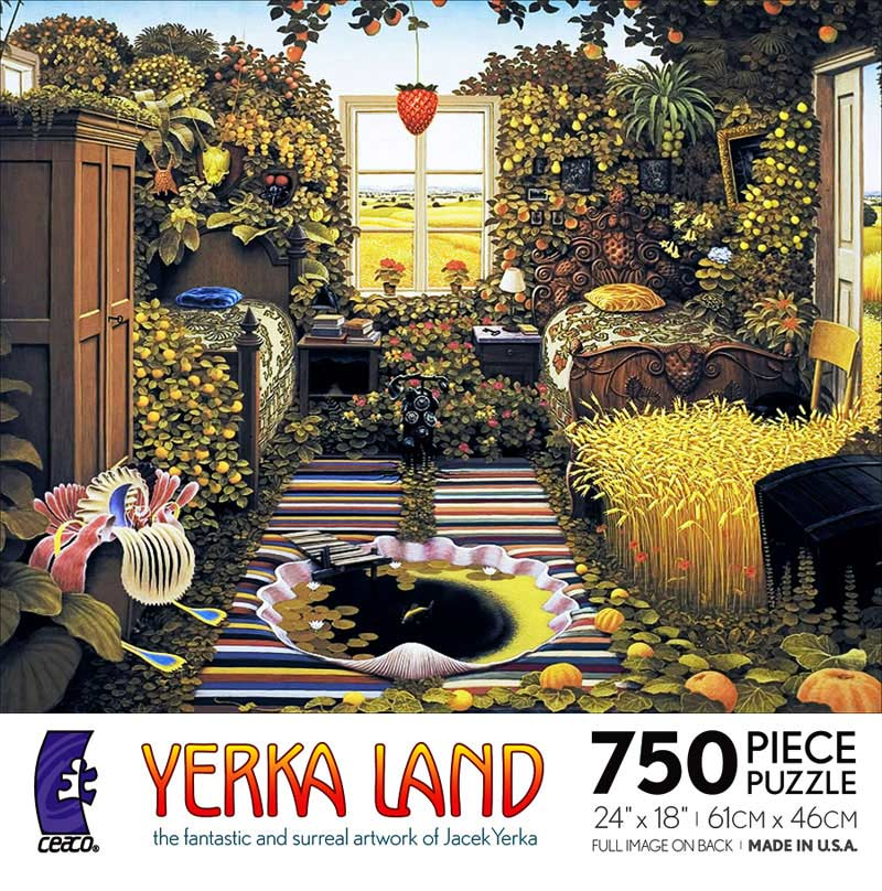 Yerka Land - Holiday Room Fantasy Jigsaw Puzzle