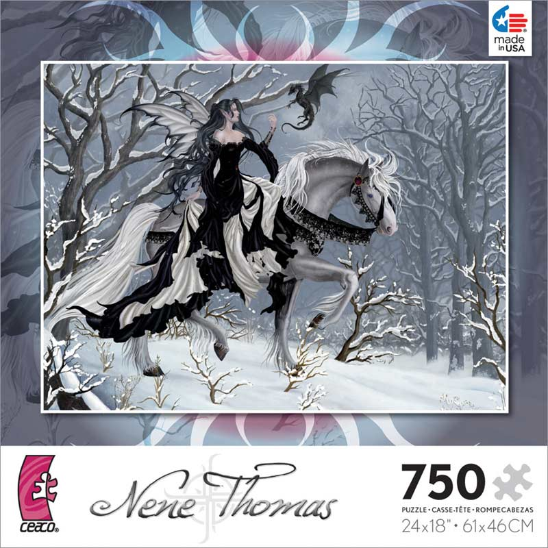 Nene Thomas - A Chance Encounter Gothic Jigsaw Puzzle