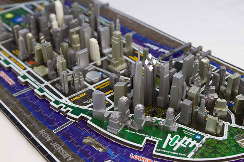 New York Landmarks / Monuments Jigsaw Puzzle