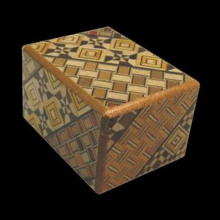 Japanese Puzzle Box - 2.5 sun 12 step Koyosegi