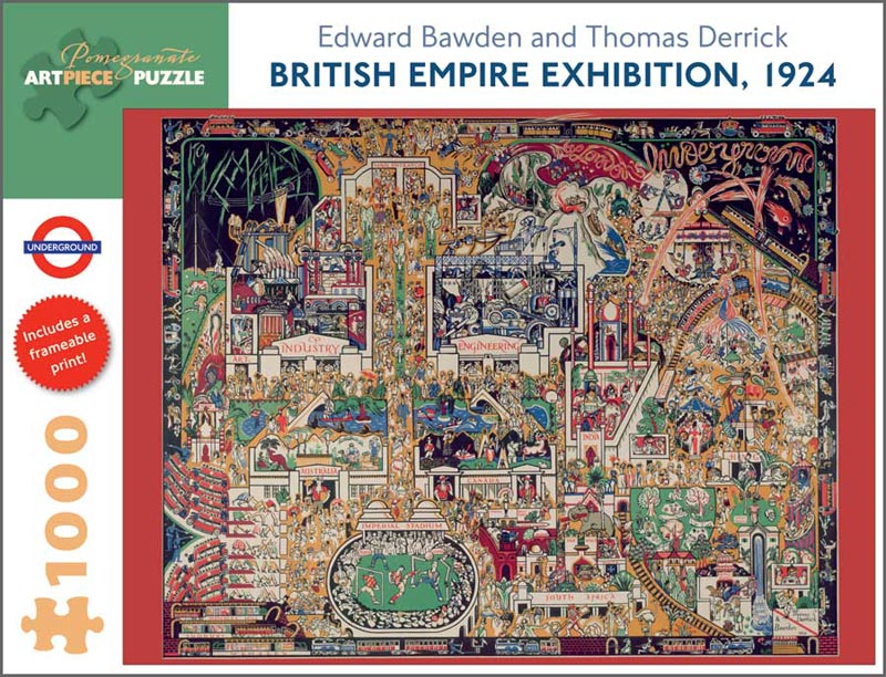 British Empire Exhibition, 1924 Contemporary & Modern Art Jigsaw Puzzle