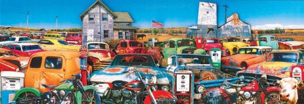 Pasture-ized Cars Jigsaw Puzzle