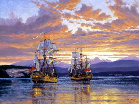 CaptainVancouver Boats Jigsaw Puzzle
