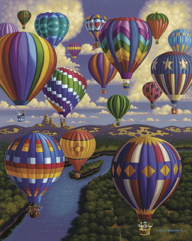 Balloon Festival Balloons Jigsaw Puzzle