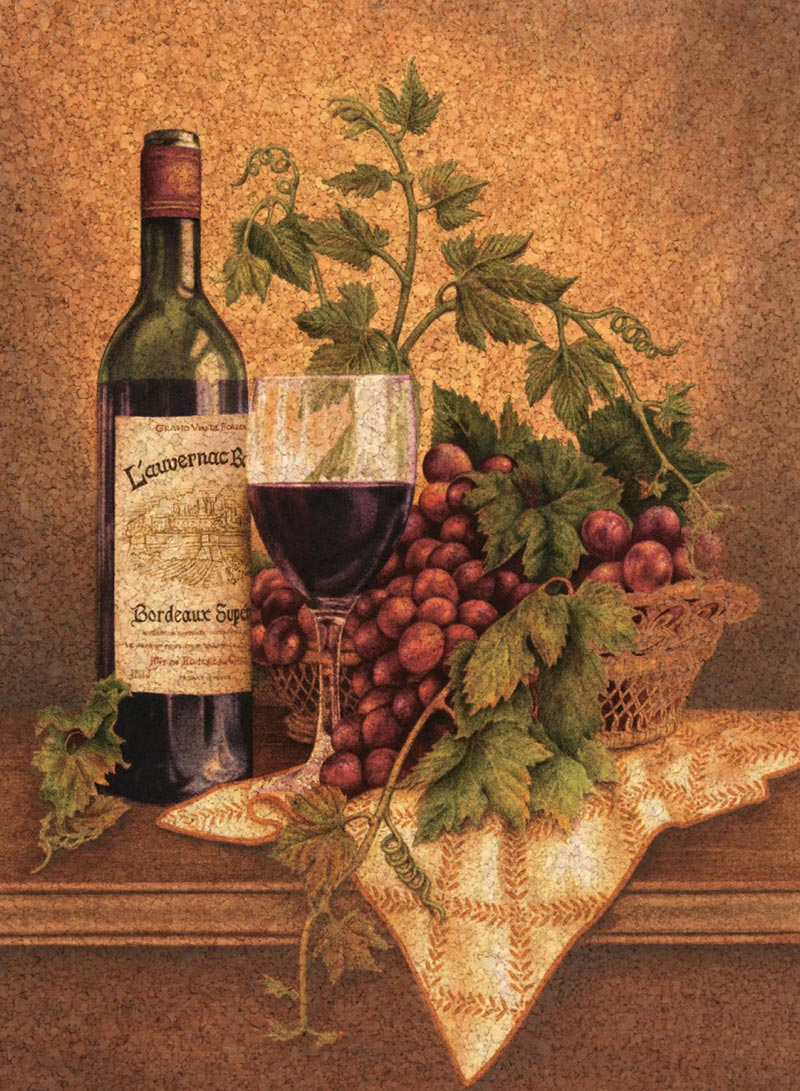 Red Wine Jigsaw Puzzle Puzzlewarehouse Com