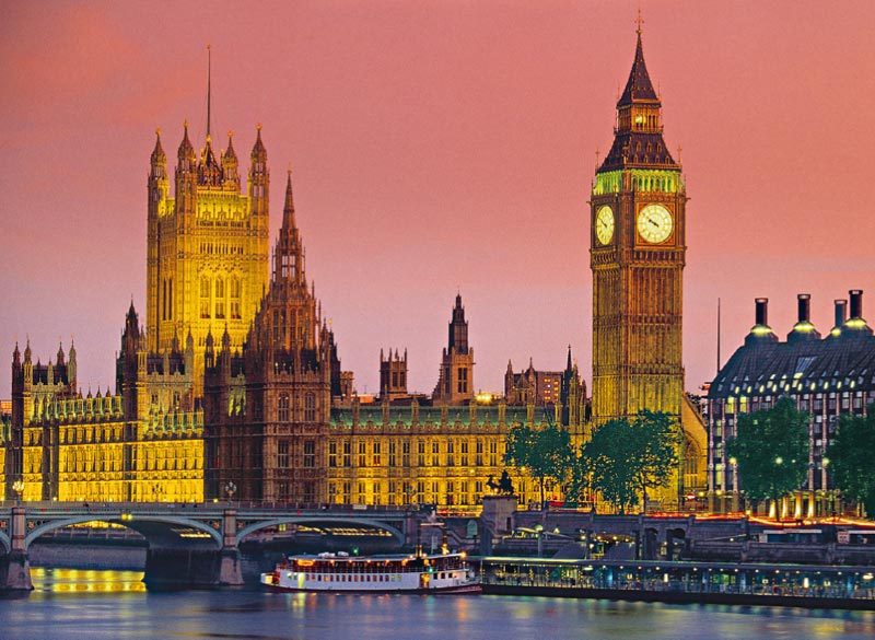 London - Scratch and Dent London Jigsaw Puzzle