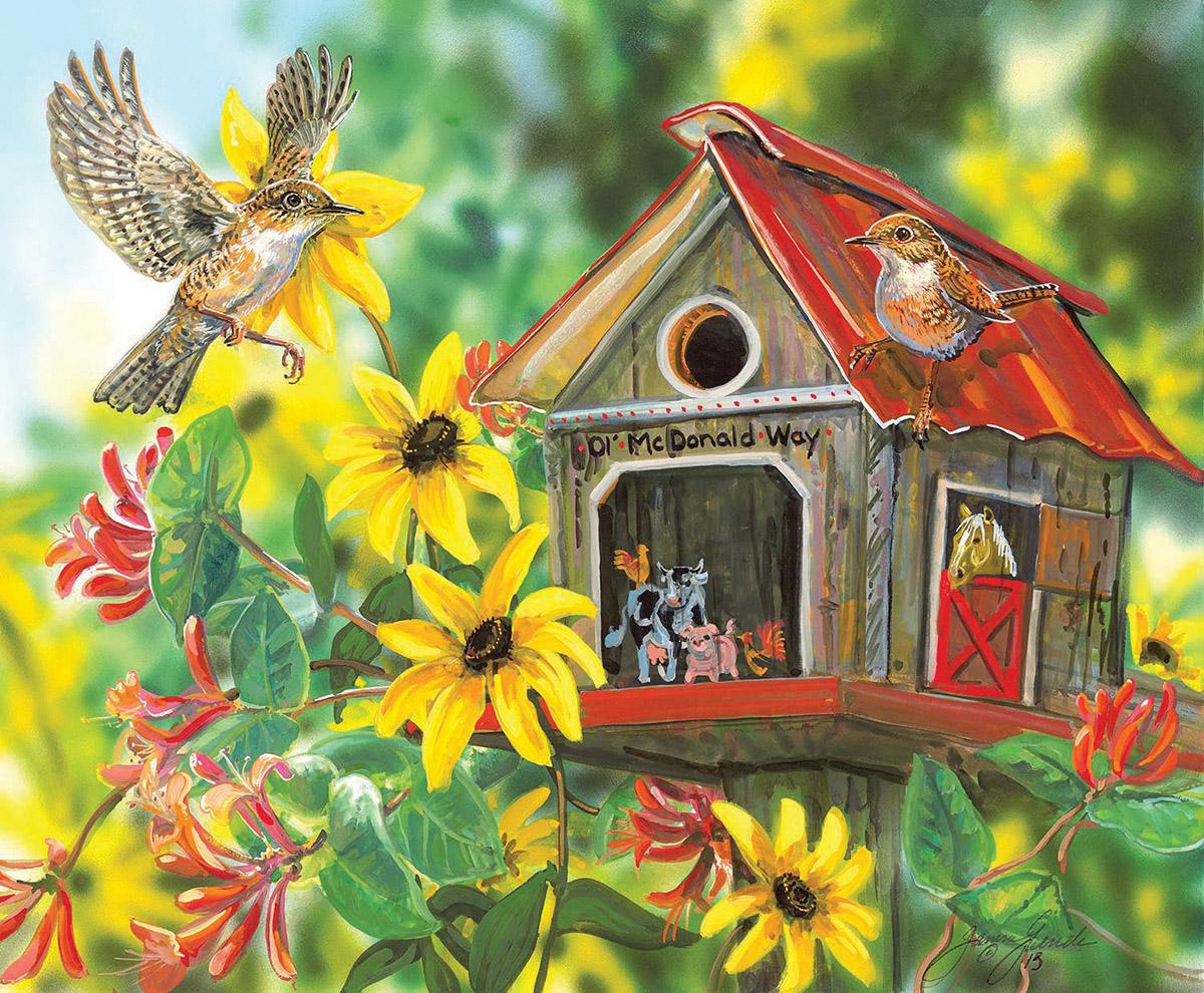 Ol MacDonald Way Birds Jigsaw Puzzle