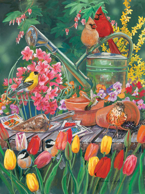 The Garden Gang Jigsaw Puzzle