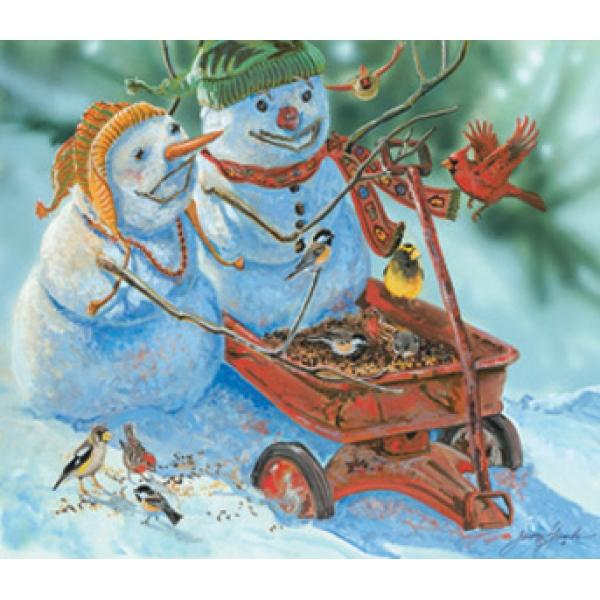 Fun Wagon Christmas Children's Puzzles