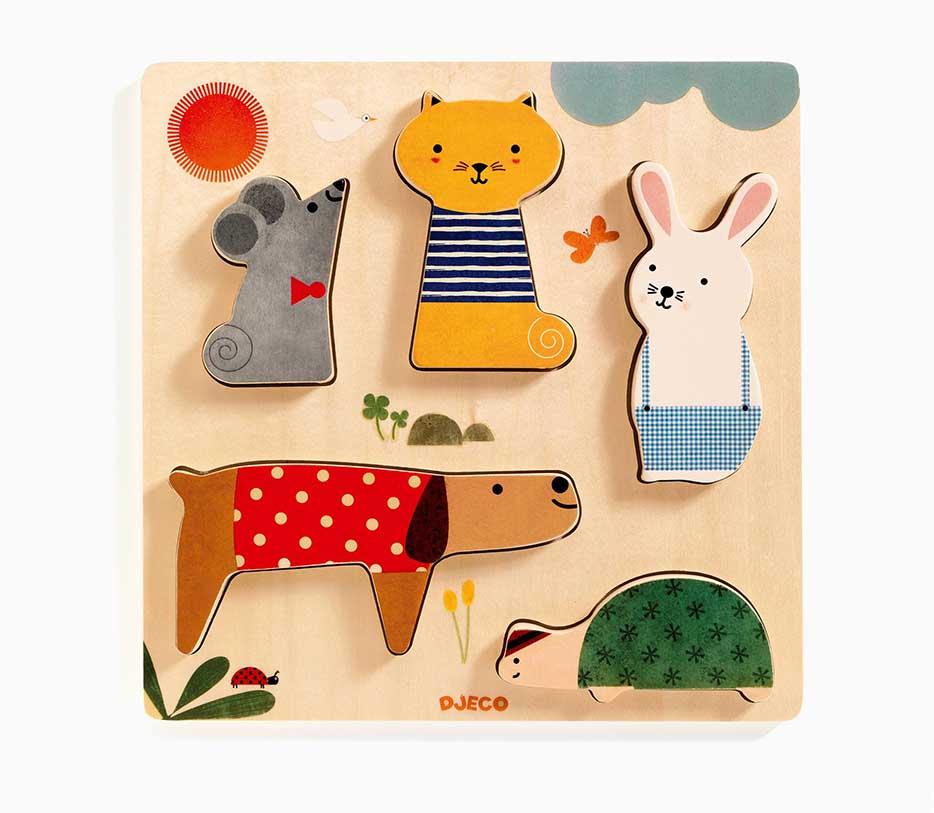 Woodypets Animals Children's Puzzles