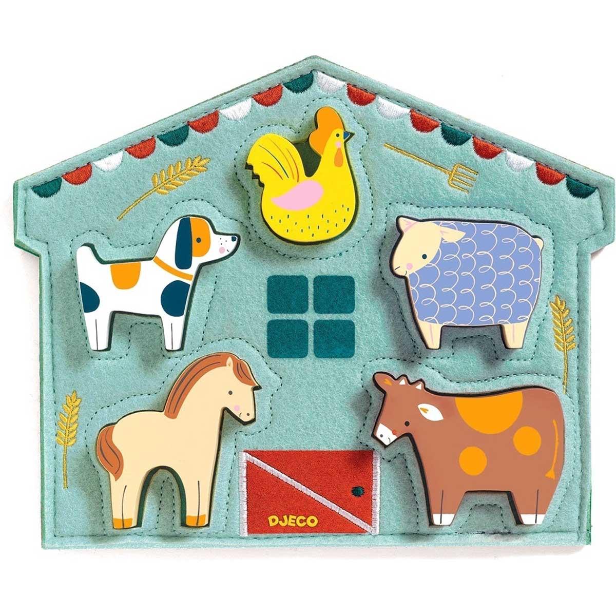 Mowy Farm Children's Puzzles