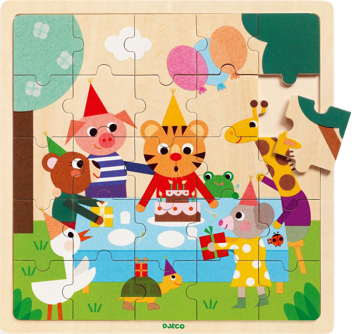 Puzzlo Happy Animals Jigsaw Puzzle