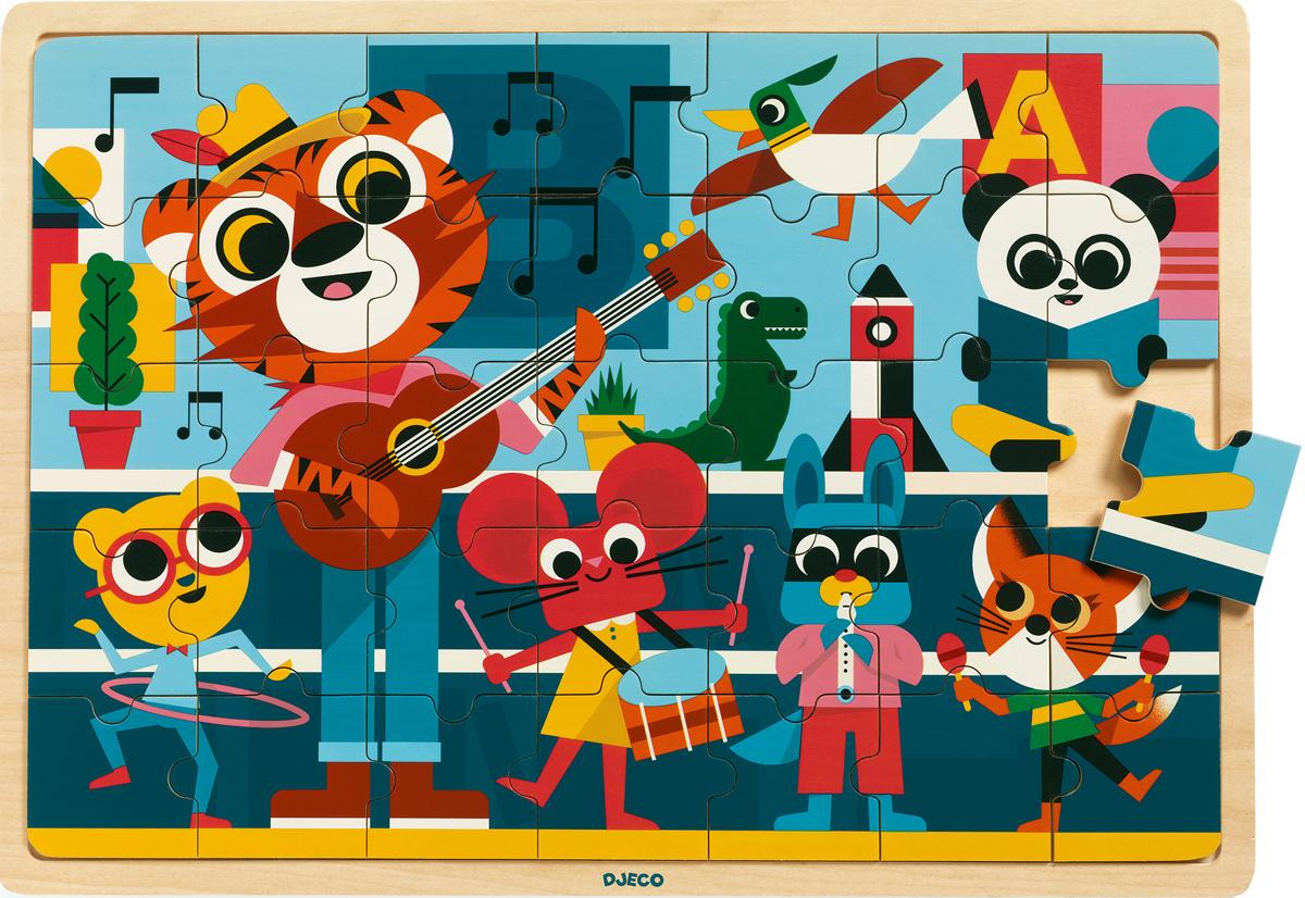 Puzzlo Music Animals Jigsaw Puzzle