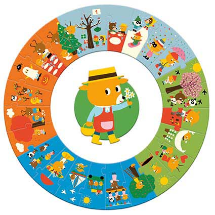 The Year Animals Children's Puzzles