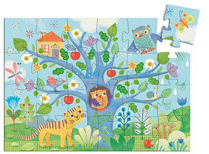 Hello Owl Birds Children's Puzzles