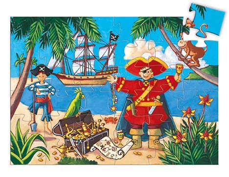 The Pirate And His Treasure Pirates Children's Puzzles