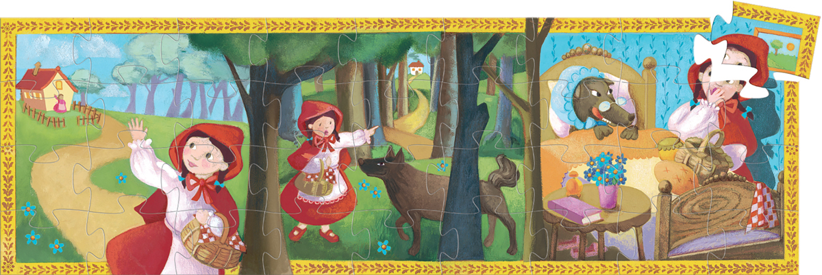 Little Red Riding Hood Fantasy Jigsaw Puzzle
