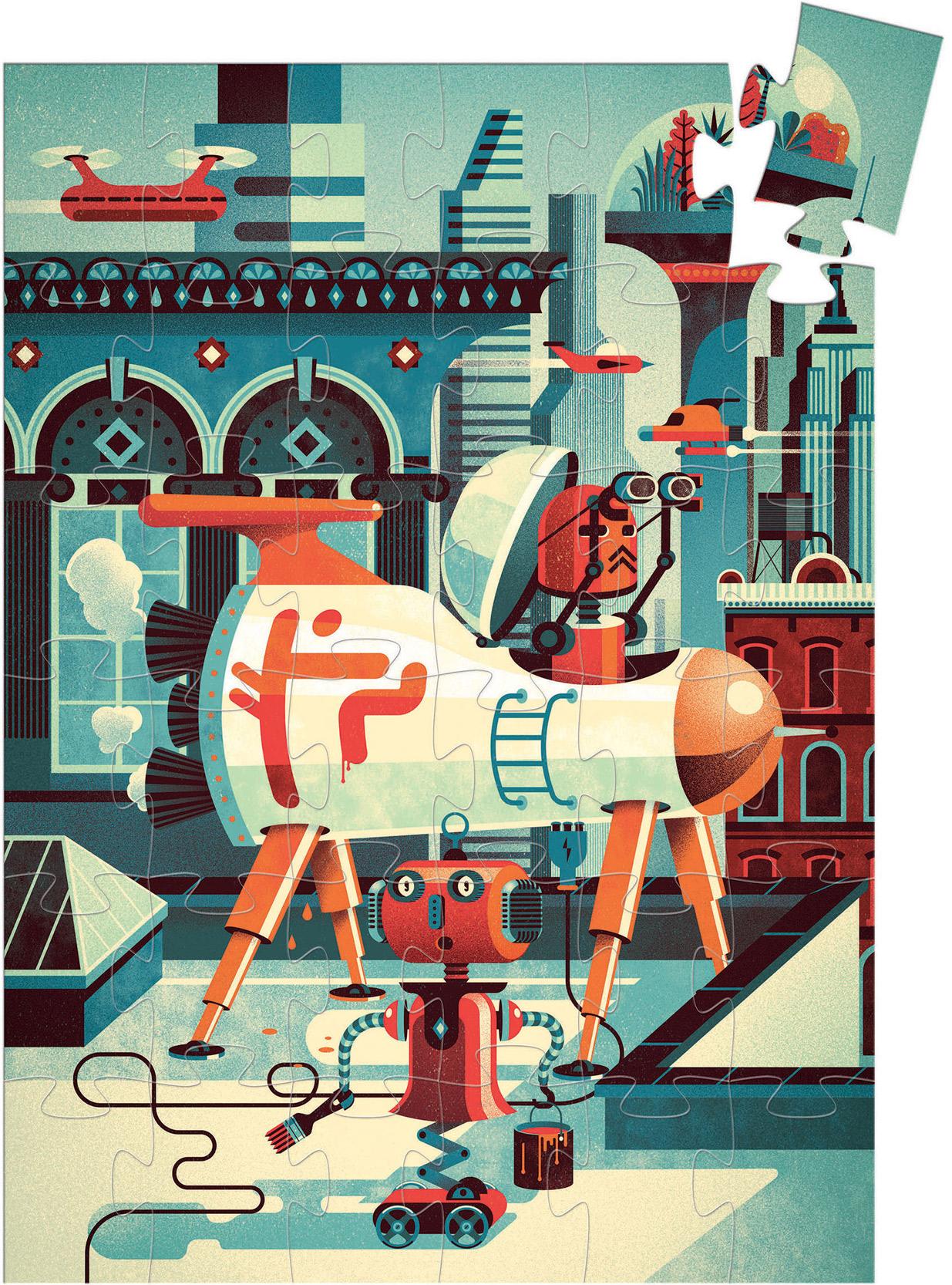 Bob The Robot Robots Jigsaw Puzzle