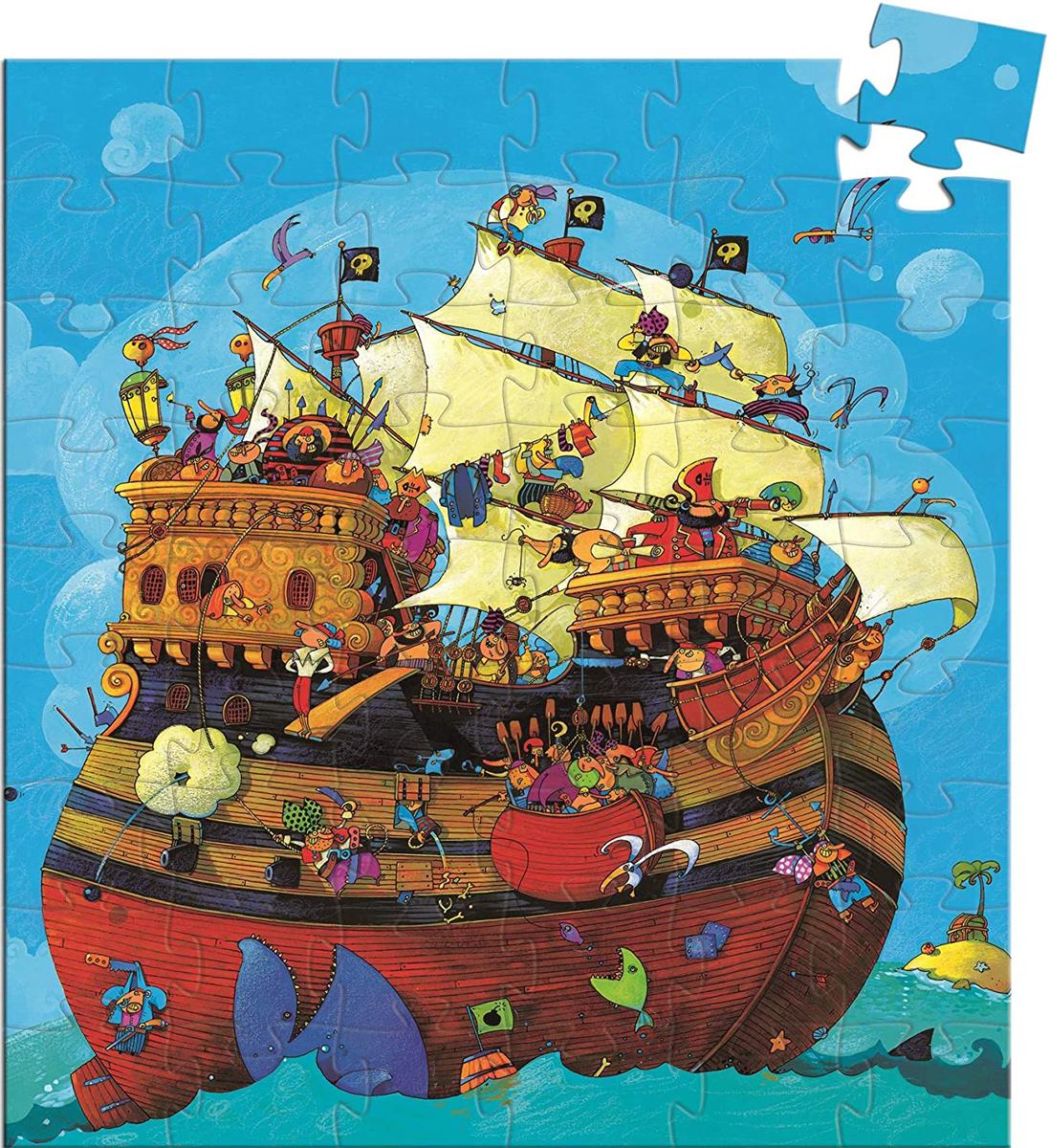 Barbarossa's Boat Boats Children's Puzzles