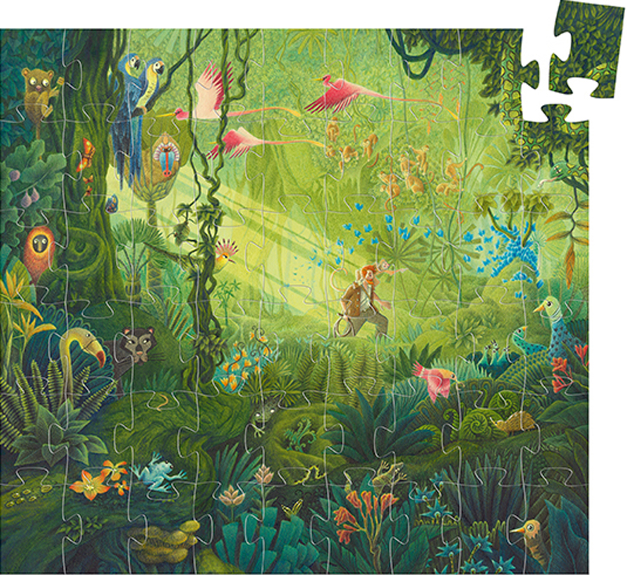 In the Jungle Jungle Animals Jigsaw Puzzle
