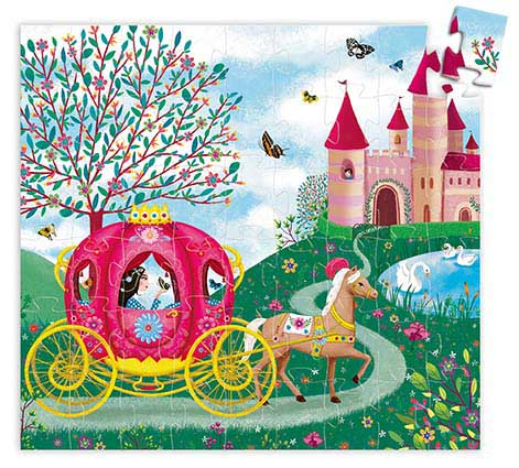 Elise's Carriage Princess Children's Puzzles
