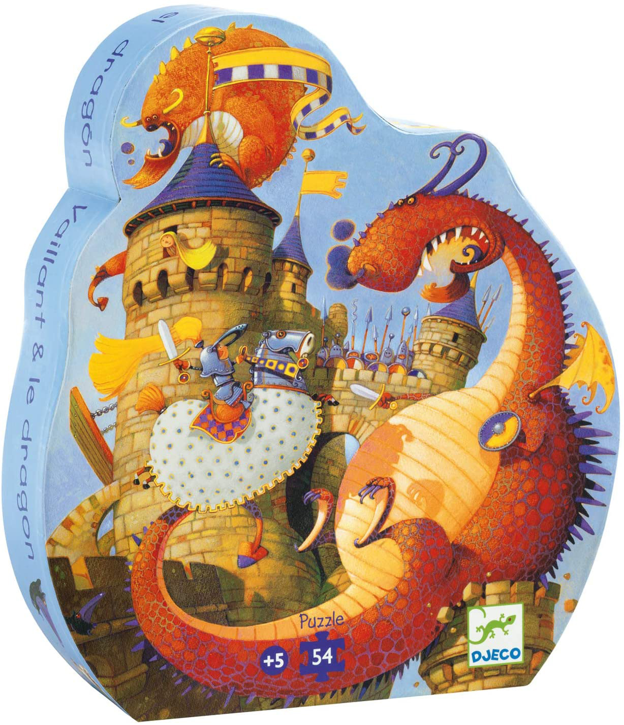 Vaillant And The Dragon Dragons Jigsaw Puzzle