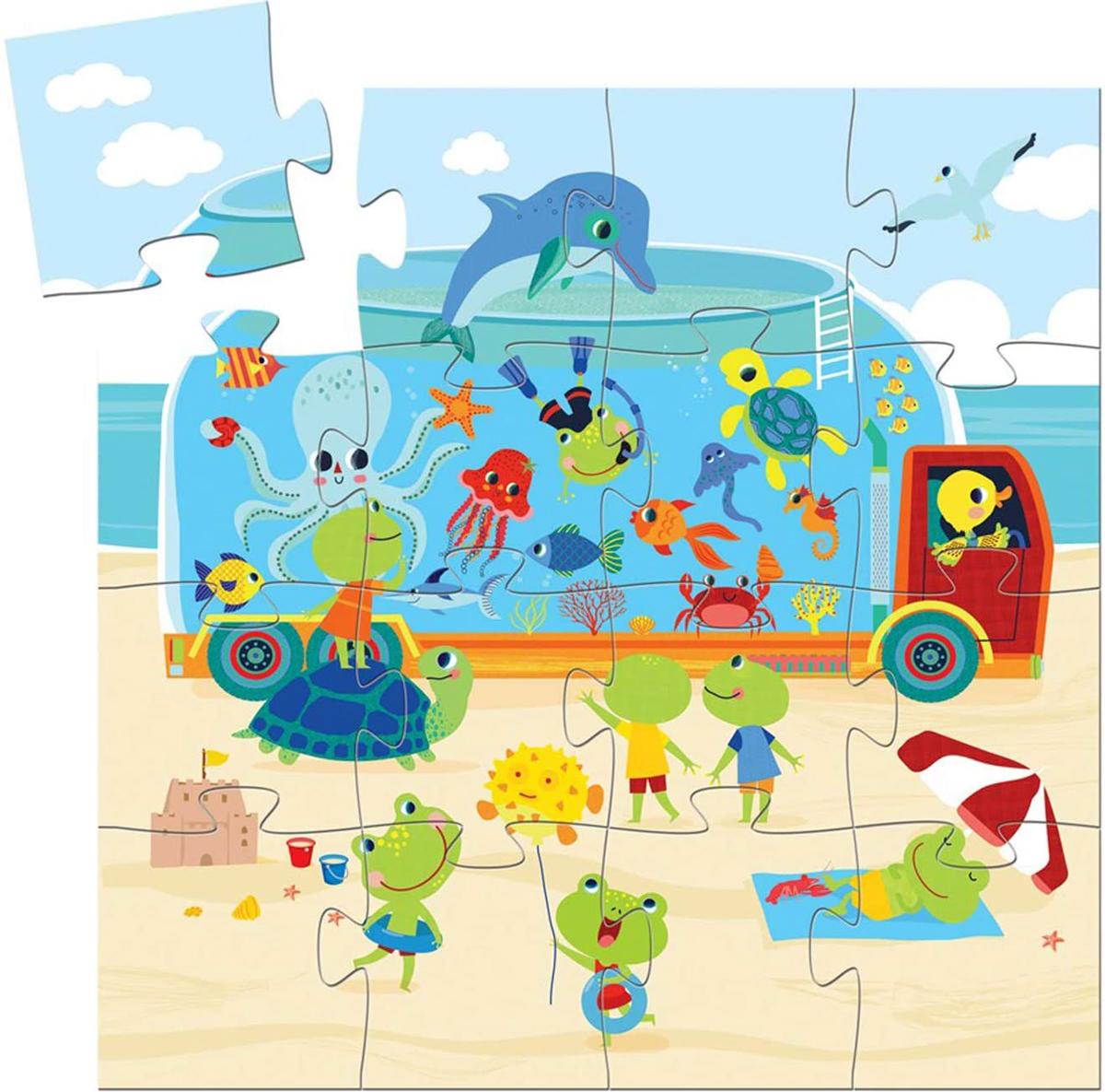 The Aquarium Beach Children's Puzzles