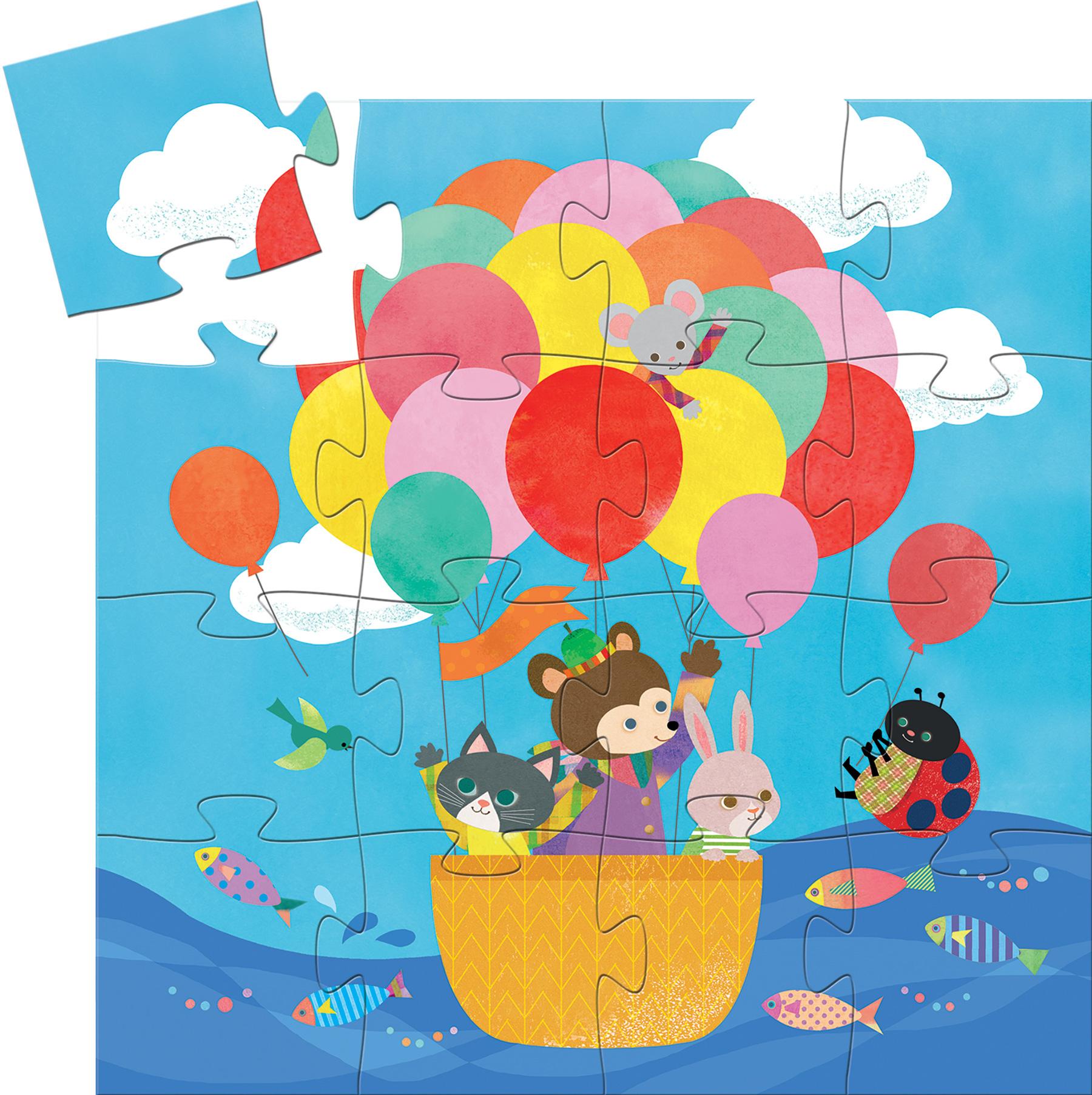 The Hot Air Balloon Balloons Jigsaw Puzzle