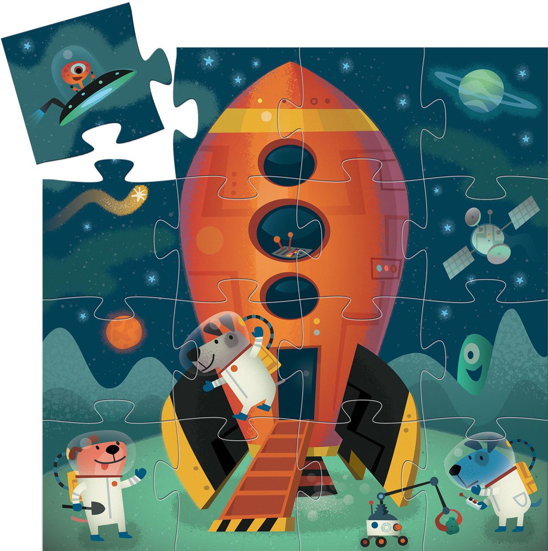 Spaceship Space Jigsaw Puzzle