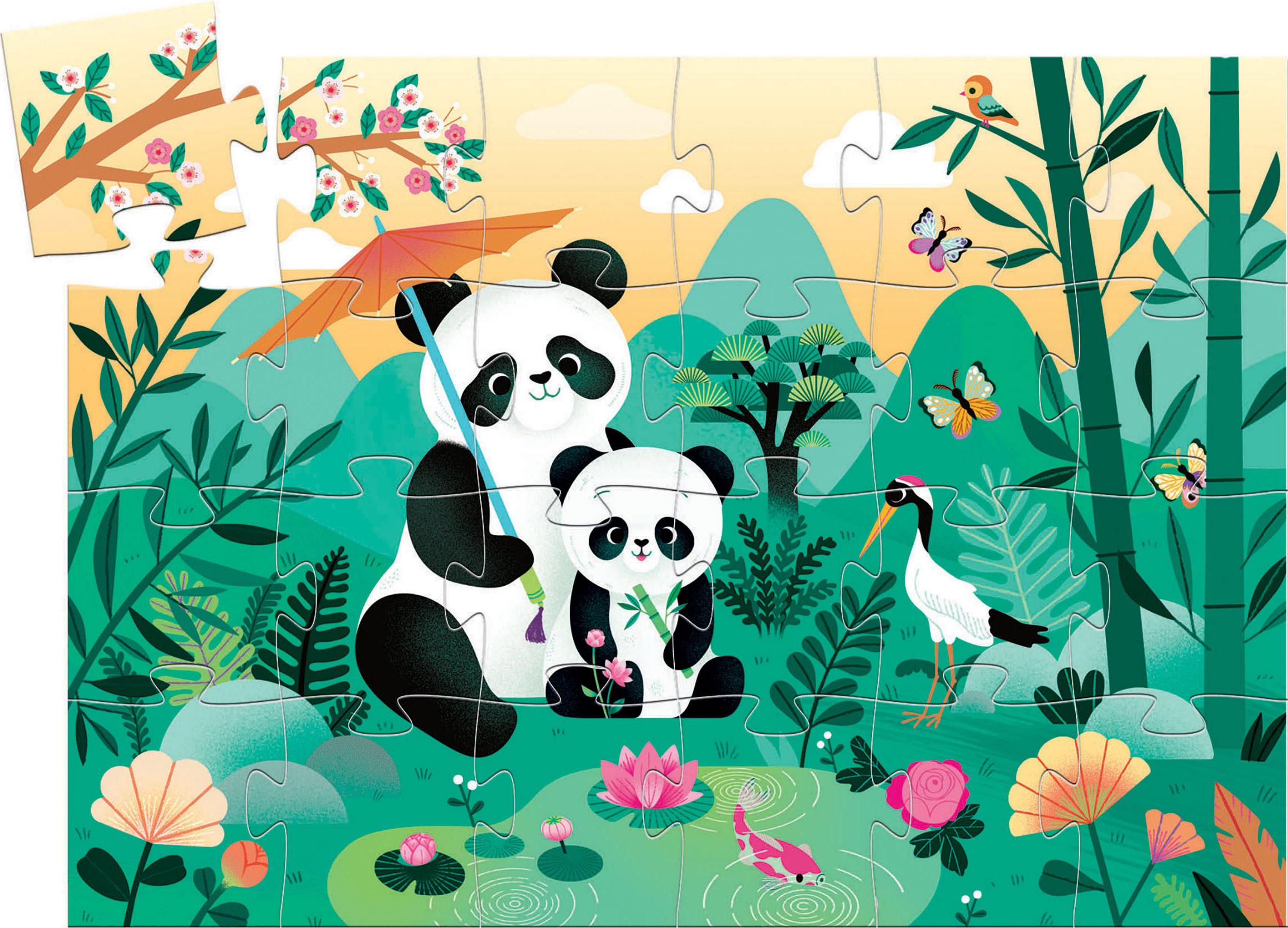 Leo The Panda Bears Jigsaw Puzzle