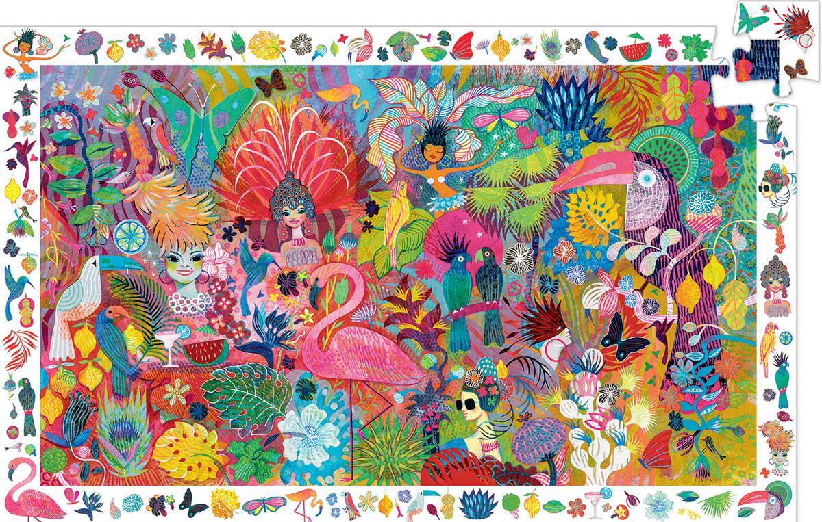 Rio Carnival Carnival Jigsaw Puzzle