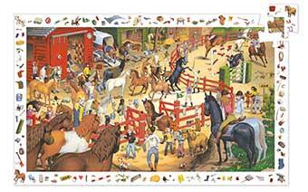 Horseback Riding Horses Jigsaw Puzzle