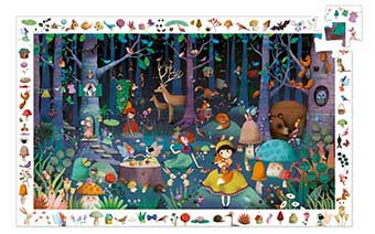 Enchanted Forest Fantasy Jigsaw Puzzle